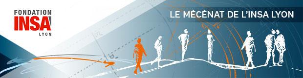 Le mécénat de l'INSA Lyon